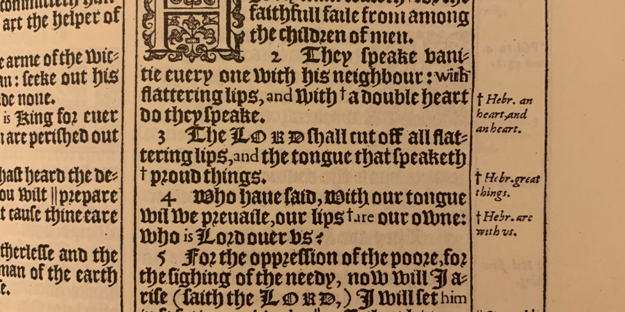 Psalm 12:6-7 And The Preservation Of The King James Bible